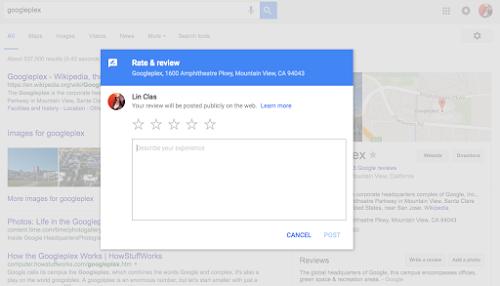 google reviews-setup